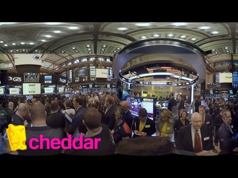 Exclusive Coverage of SnapChat's IPO from the Floor of the NYSE | Cheddar