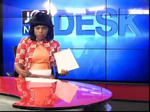 Gas flaring from Jubilee Field - News Desk (11-6-14)