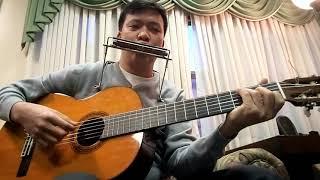 Đầu Xuân Cầu Cho Gia Đình. Jos.Hung guitar and harmonica