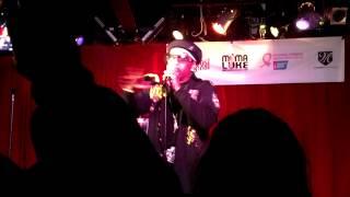The Kangol Kid @ the Grog Shop: Hip Hop fights Breast Cancer - Mama Luke