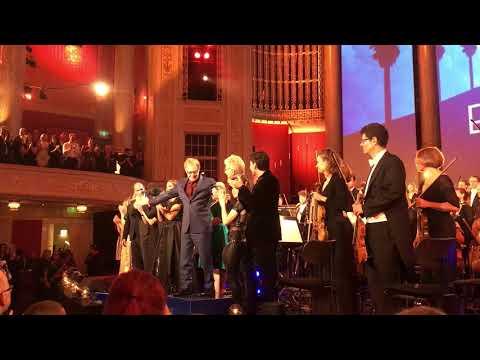 Danny Elfman at Hollywood in Vienna, congratulations, 2017