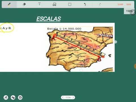 La Escala Del Mapa.Escalas Calcular La Distancia Entre Dos Ciudades En Un Mapa A Escala Eso Youtube