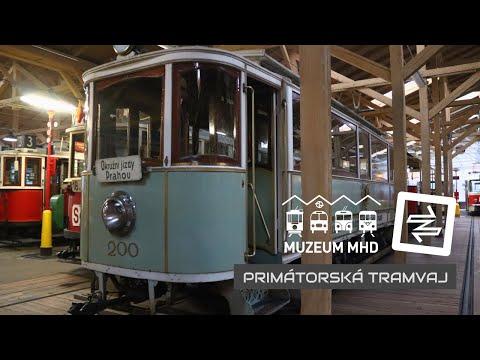 Primátorská tramvaj | AK 2020 v Muzeu MHD