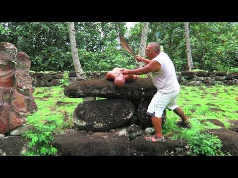 HUMAN SACRIFICE CEREMONY - Nuku Hiva, Marquesas Islands