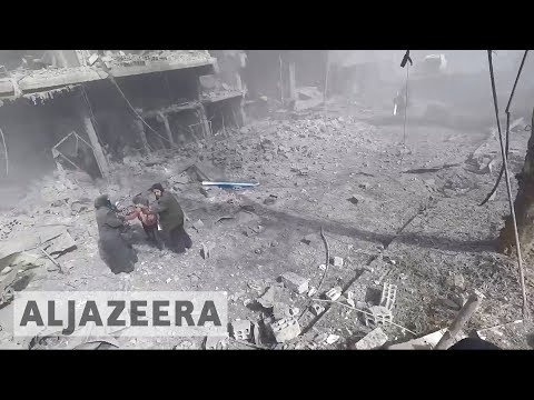 🇸🇾 Syrian National Coalition: Ghouta being 'exterminated'