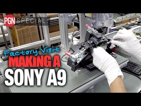Factory Tour: See How the Sony a9 is Made