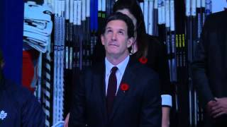 The 2013 Hall of Fame Class Opening Faceoff - November 8th, 2013