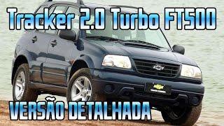 verso detalhada chevrolet tracker 2 0 16v turbo ft500 lite 4x4