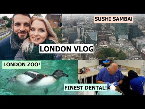 COME TO THE DENTIST WITH ME! LONDON VLOG 🇬🇧