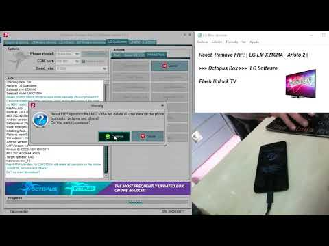 Reset, Remove FRP: | LG LM-X210MA Aristo 2 | Flash Unlock TV