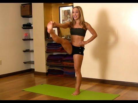 Yoga for Beginners, Utthita Hasta Padangusthasana from Ashtanga Primary Series with Kino