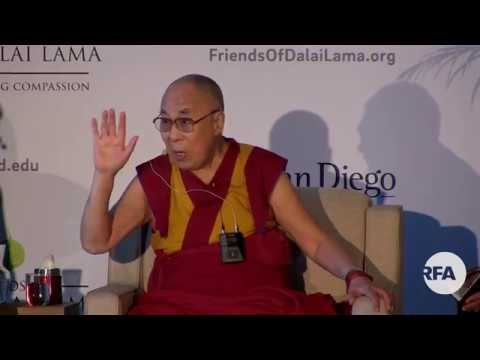 His Holiness Dalai Lama press conference in San Diego - June 16, 2017
