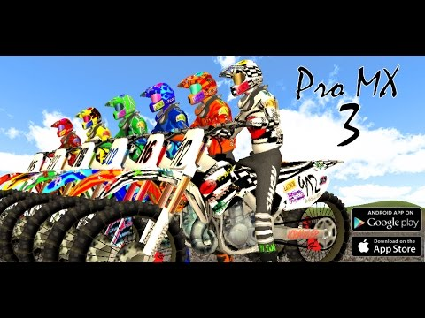 Pro MX 3 - Motocross Racing Game on Android and iOS