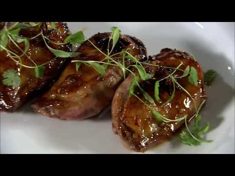 Marco Pierre White recipe for Honey glazed duck breasts with apple sauce