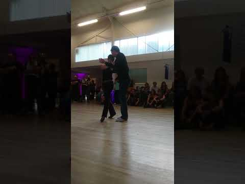 Blues fusion dance to Beautifully Unfinshed - Chris and Jo Wiseman