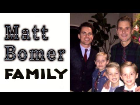 Matt Bomer. Family (His husband Simon Halls & 3 sons)