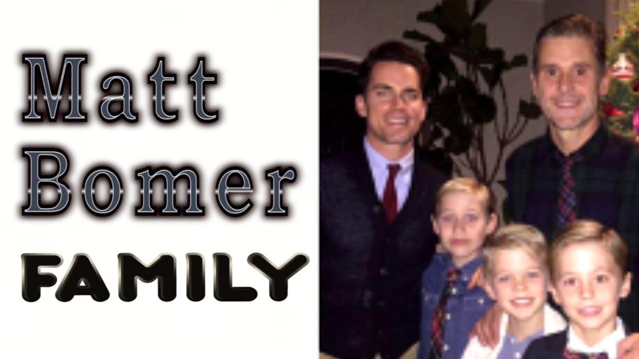 Matt Bomer Family His Husband Simon Halls 3 Sons Youtube
