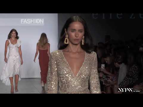 ELLE ZEITOUNE Spring Summer 2019 Fashion Palette New York - Fashion Channel
