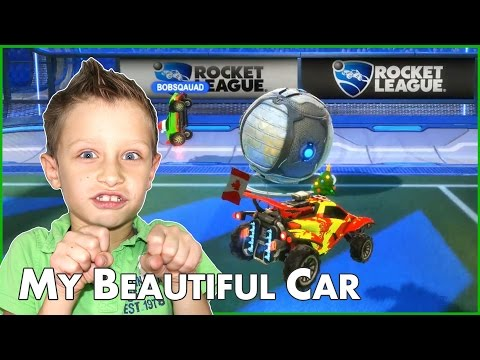 Driving My Beautiful Car! / Rocket League