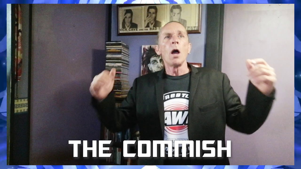 AWF Commissioner Matt Svenson addresses the AWF fans and prepares for AWF Pro-Wrestling Reset