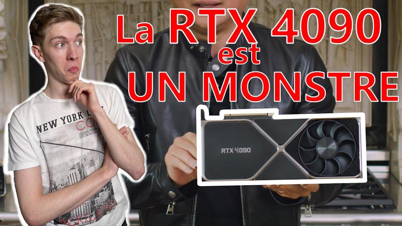 Download LA RTX 4090 est MONSTRUEUSE