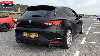 400HP Stage 2 Seat Leon Cupra + 400HP Stage 2 Audi S3 Sedan - Loud Pops & Bangs!