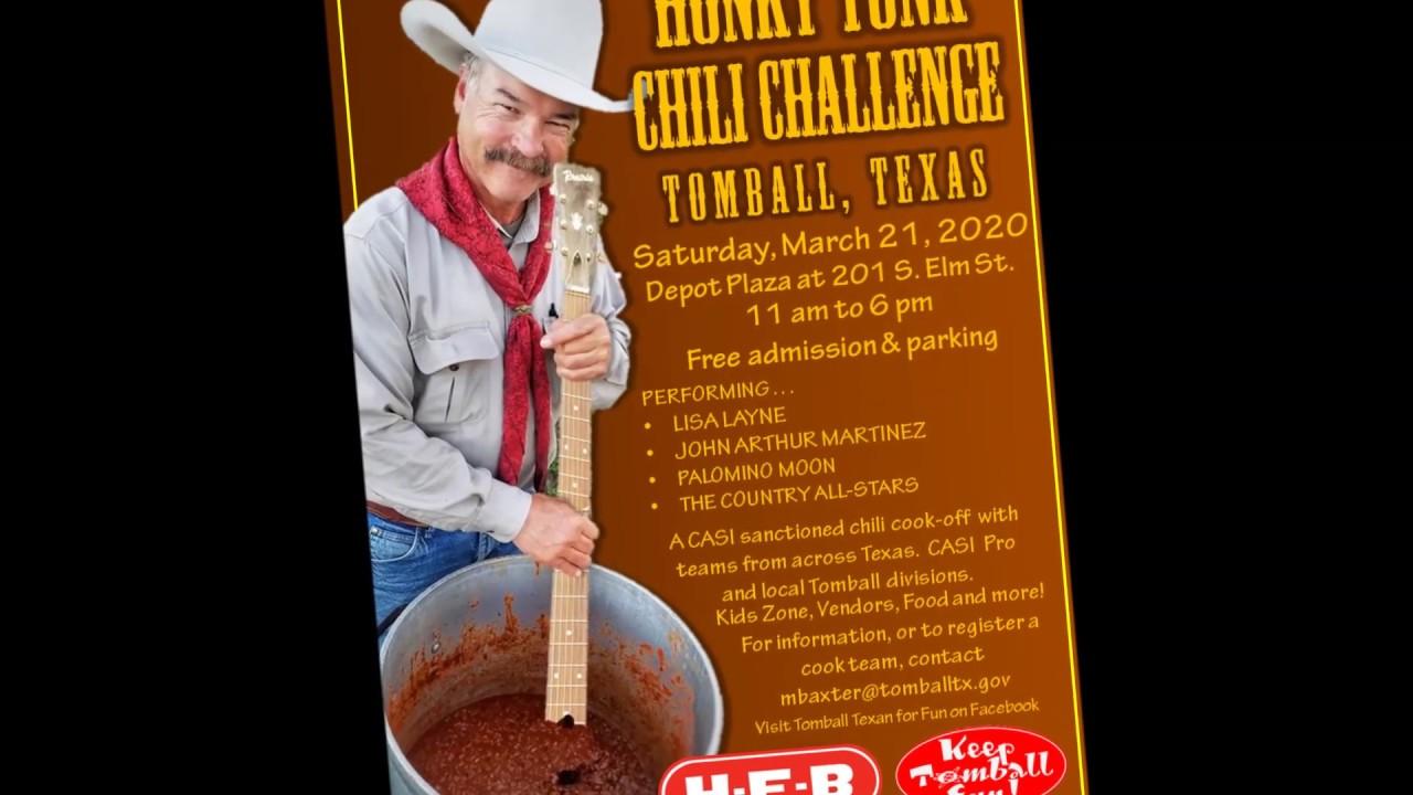 Tomball Honky Tonk Chili Challenge 2020 Youtube