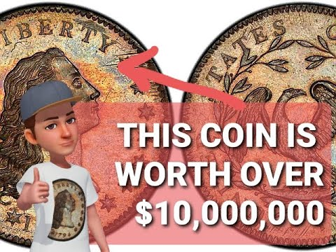 $10 MILLION Flowing Hair Silver Dollar Coin For Sale