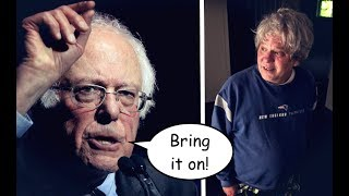 Bernie Sanders' 2018 Challenger is an Unhinged Joke of a Candidate