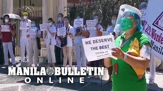 PGH health workers stage protest, demand safer vaccine