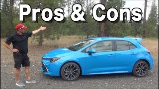 Reasons FOR and AGAINST: 2019 Toyota Corolla Hatchback on Everyman Driver