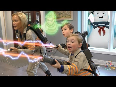 Ghostbusters Kids Parody Skit with Playmobil Toys