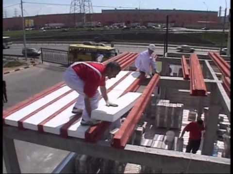 видео: Видео быстрое строительство дома из кубиков