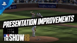 MLB The Show 18 - Gamestop Monday: Commentary & Presentation Improvements | PS4