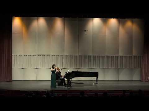 Faculty Artist Series Recital: Lauren Rustad Roth, violin & John Milbauer, piano