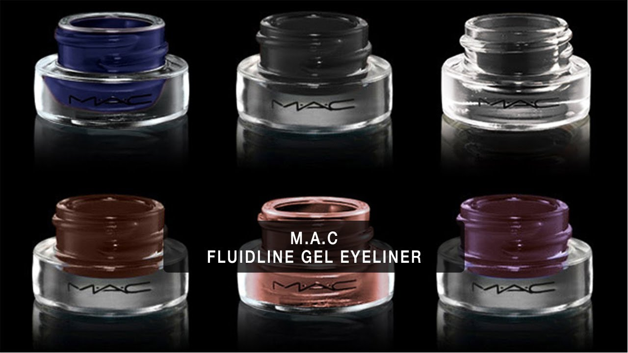 M.A.C FLUIDLINE GEL EYELINER: Expert Product Review - YouTube