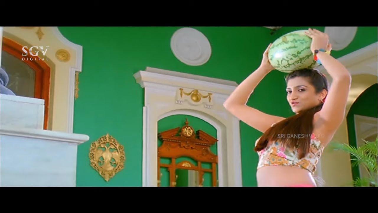 Rishika Singh Naughty Teases Duniya Vijay Comedy Scene | Kanteerava Kannada Movie | Shubha Poonja