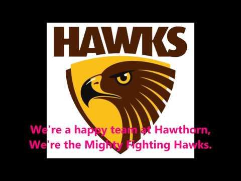 Hawthorn Hawks theme song (Lyrics) AFL Sing-A-Long