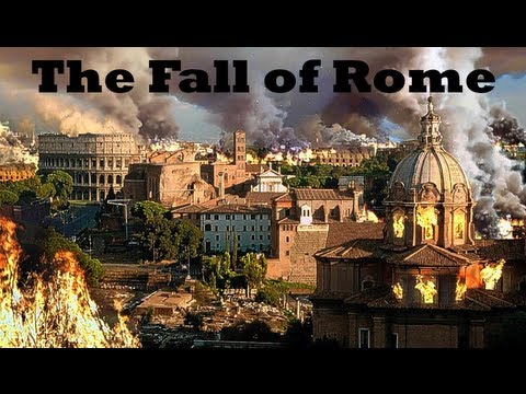 collapse of the roman empire versus Han dynasty vs roman empire: a comparison preconditions the roman empire: decline the roman empire fell less to an overactive amount of expansion but more to.