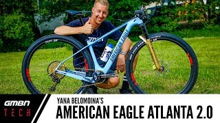 Yana Belomoina's American Eagle Atlanta | GMBN Tech Pro Bike