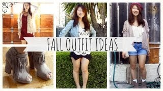 Early Fall Outfit Ideas 2013