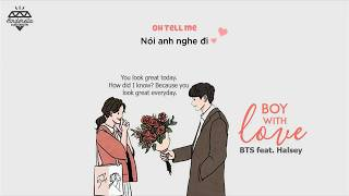 Cover images [Vietsub][Engsub] BTS (방탄소년단) - Boy With Luv feat. Halsey