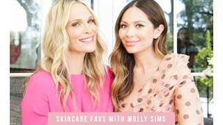 Skincare Favs with Molly Sims