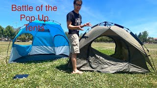 Best Pop Up Tent from Amazon Review vs Lightspeed Sun Shelter, BFULL