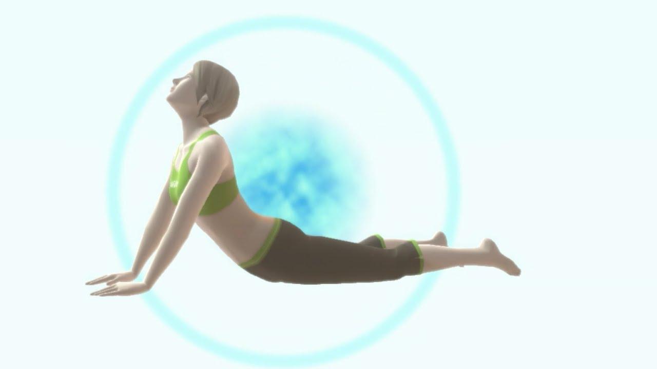 Cobra Pose - Yoga Exercise - Wii Fit U - YouTube