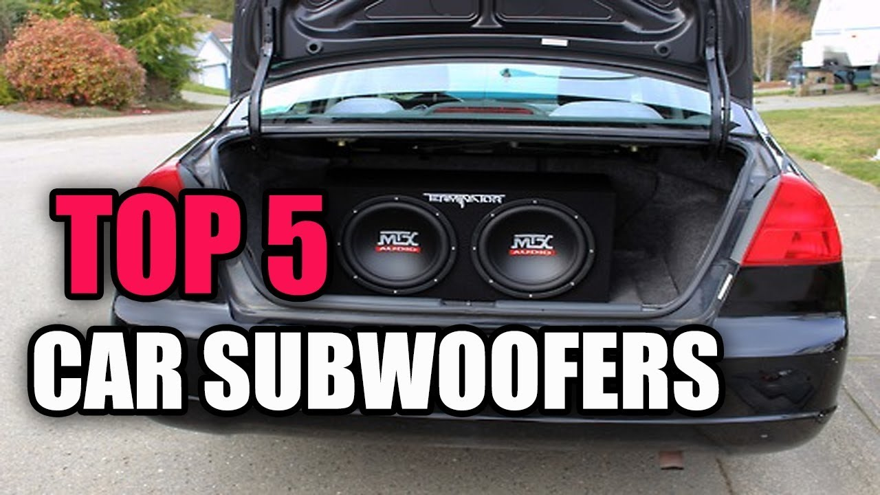 best car subwoofer deals