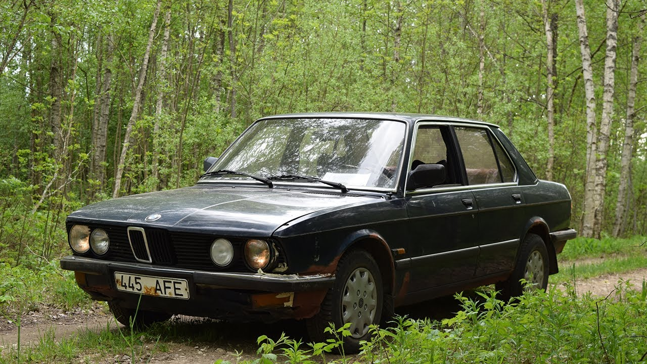 1982 bmw e28 520 test drive after 3 years 1080p