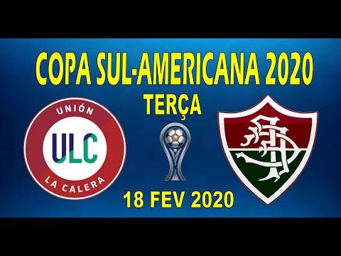 UNIÓN LA CALERA X FLUMINENSE ( 18/02/2020 ) COPA SUL-AMERICANA 2020 UNIÓN DE CALERA VS FLUMINENSE