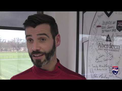 RCFC TV   Stuart Kettlewell looks ahead to our SPFL Championship match away to Greenock Morton
