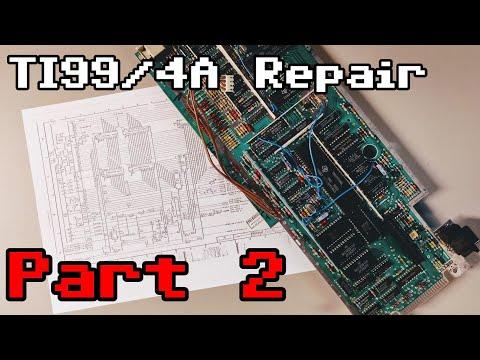 TI99/4A Motherboard Repair - Part 2